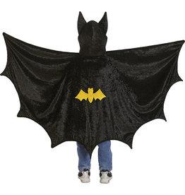 CREATIVE EDUCATION Hooded Bat Cape Black