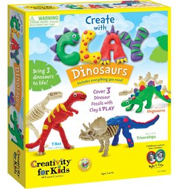 Faber Castell Create with Clay Dinosaurs