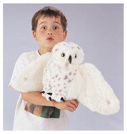 FOLKMANIS SNOWY OWL-FOLKMANIS