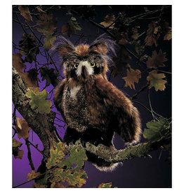 FOLKMANIS GREAT HORNED OWL