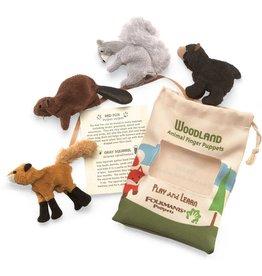FOLKMANIS WOODLAND ANIMALS