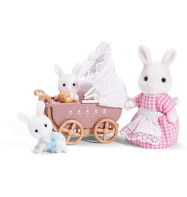 Calico Critters Connor Kerri Carriage