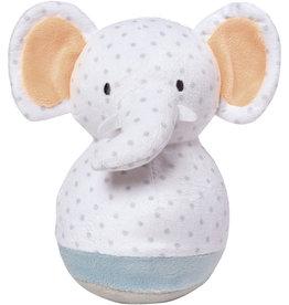 MANHATTAN TOY COMPANY Playtime Plush Roly Poly Elephant