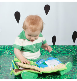 MANHATTAN TOY COMPANY FIN THE FROG SOFT BOOK