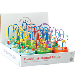 MANHATTAN TOY COMPANY WOBBLE AROUND BEADS