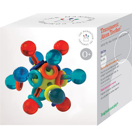 MANHATTAN TOY COMPANY Transparent Atom Teether (Boxed)
