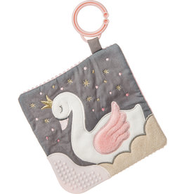MARY MEYER Itsy Glitzy Swan Crinkle Teether