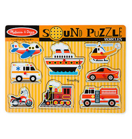 MELISSA & DOUG VEHICLES SOUND