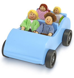MELISSA & DOUG CAR & DOLL SET