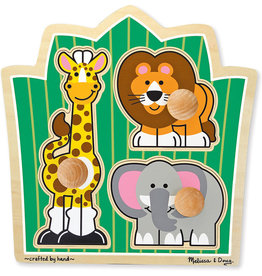 MELISSA & DOUG JUNGLE JUMBO KNOB
