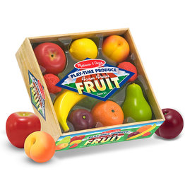 MELISSA & DOUG PLASTIC FRUIT SET