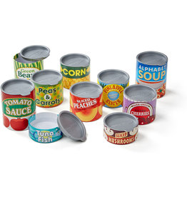 MELISSA & DOUG PANTRY CANNED FOOD