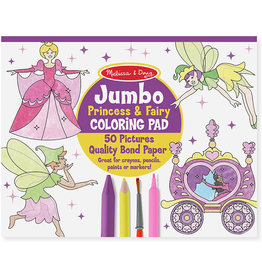 MELISSA & DOUG PRINCESS JUMBO COLORING PAD