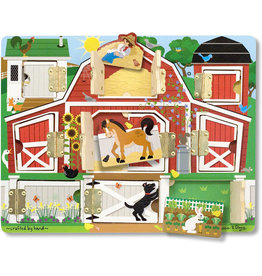 MELISSA & DOUG MAG FARM HIDE & SEEK