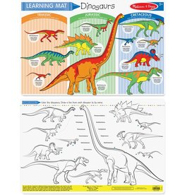 MELISSA & DOUG Dinosaurs Color-A-Mat