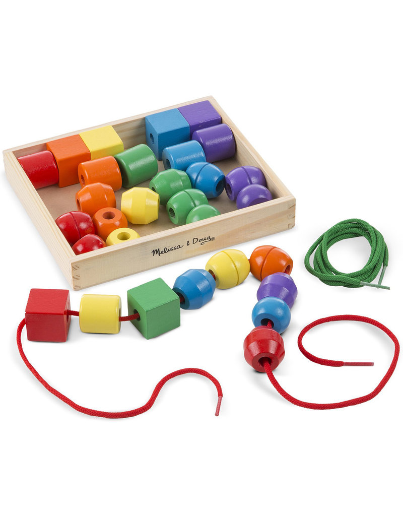 Melissa Doug Primary Lacing Bead