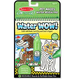 MELISSA & DOUG WATER WOW-PET MAZES