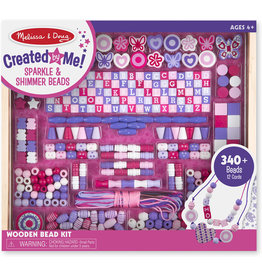 MELISSA & DOUG Created by Me Sparkle & Shimmer Beads