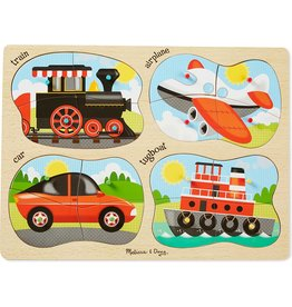 MELISSA & DOUG 4 IN 1 VEHICLES