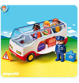 PLAYMOBIL U.S.A. 1.2.3 Airport Shuttle Bus