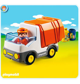 PLAYMOBIL U.S.A. 1.2.3 Recycling Truck