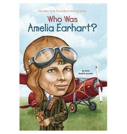 PENGUIN PUTNAM BOOKS WHO WAS AMELIA EARHART