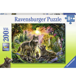 Ravensburger 200 PC WOLF FAMILY