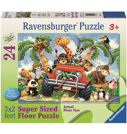 Ravensburger 24PC 4 WHEELING