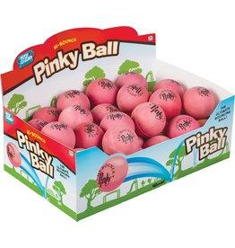 TOYSMITH Hi-Bouncy PINKY RUBBER BALL