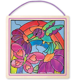 MELISSA & DOUG Stained Glass Made Easy - Rainbow Garden