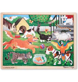 MELISSA & DOUG Pets Jigsaw 24pc