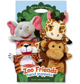 MELISSA & DOUG Zoo Friends puppets