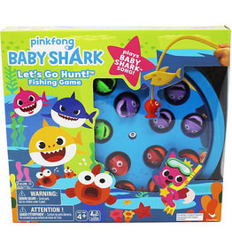Gund/Spinmaster Pinkfong Baby Shark Lets go Fishing Game