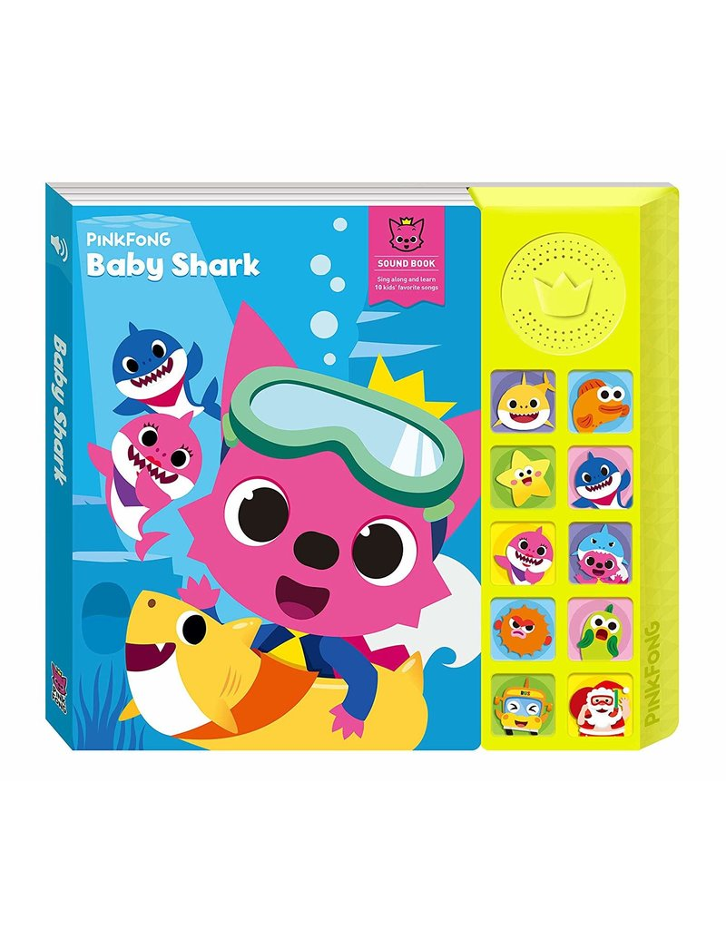 California Creations Pinkfong Baby Shark Sound Book