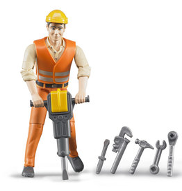 BRUDER TOYS AMERICA INC CONSTRUCTION WORKER