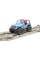 BRUDER TOYS AMERICA INC Jeep Cross Country racer blue with driver