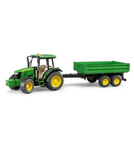 BRUDER TOYS AMERICA INC John Deere 5115M with trailer