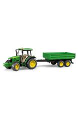 BRUDER TOYS AMERICA INC John Deere 5115M with trailer
