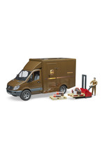 BRUDER TOYS AMERICA INC MB Sprinter UPS Truck with Manually Operated Pallet Jack