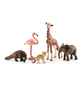 SCHLEICH WILDLIFE ANIMALS SET