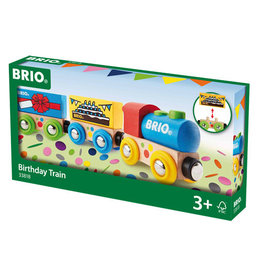 BRIO CORPORATION BIRTHDAY TRAIN