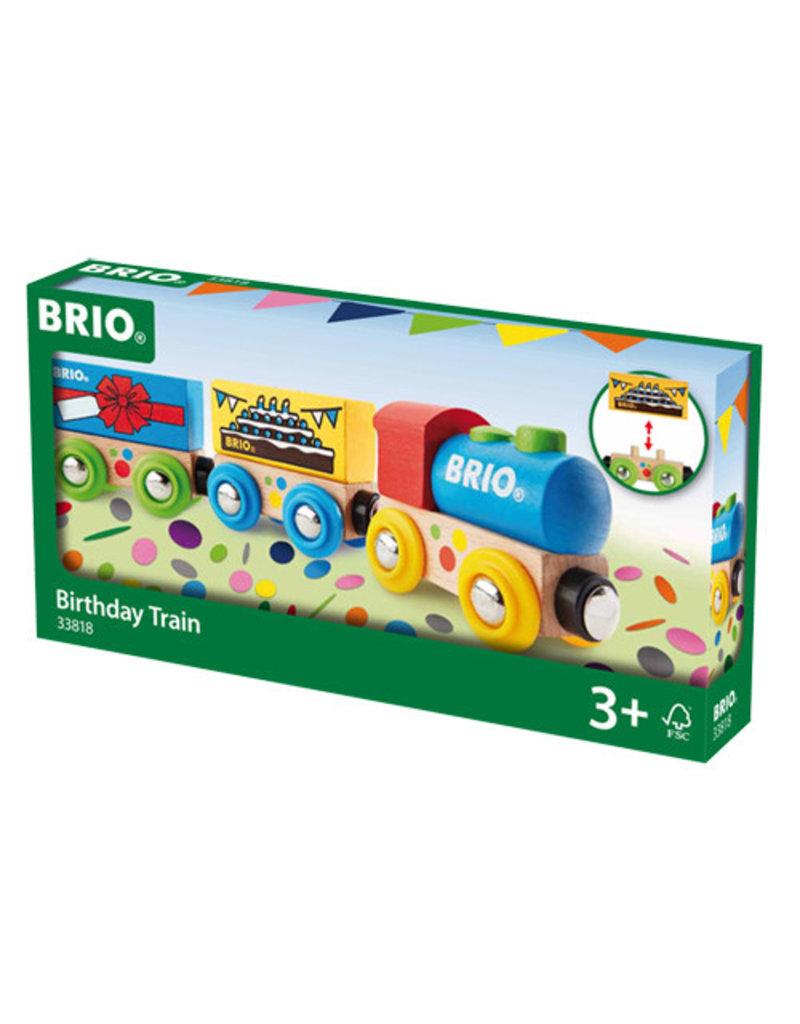 BRIO CORPORATION BIRTHDAY TRAIN