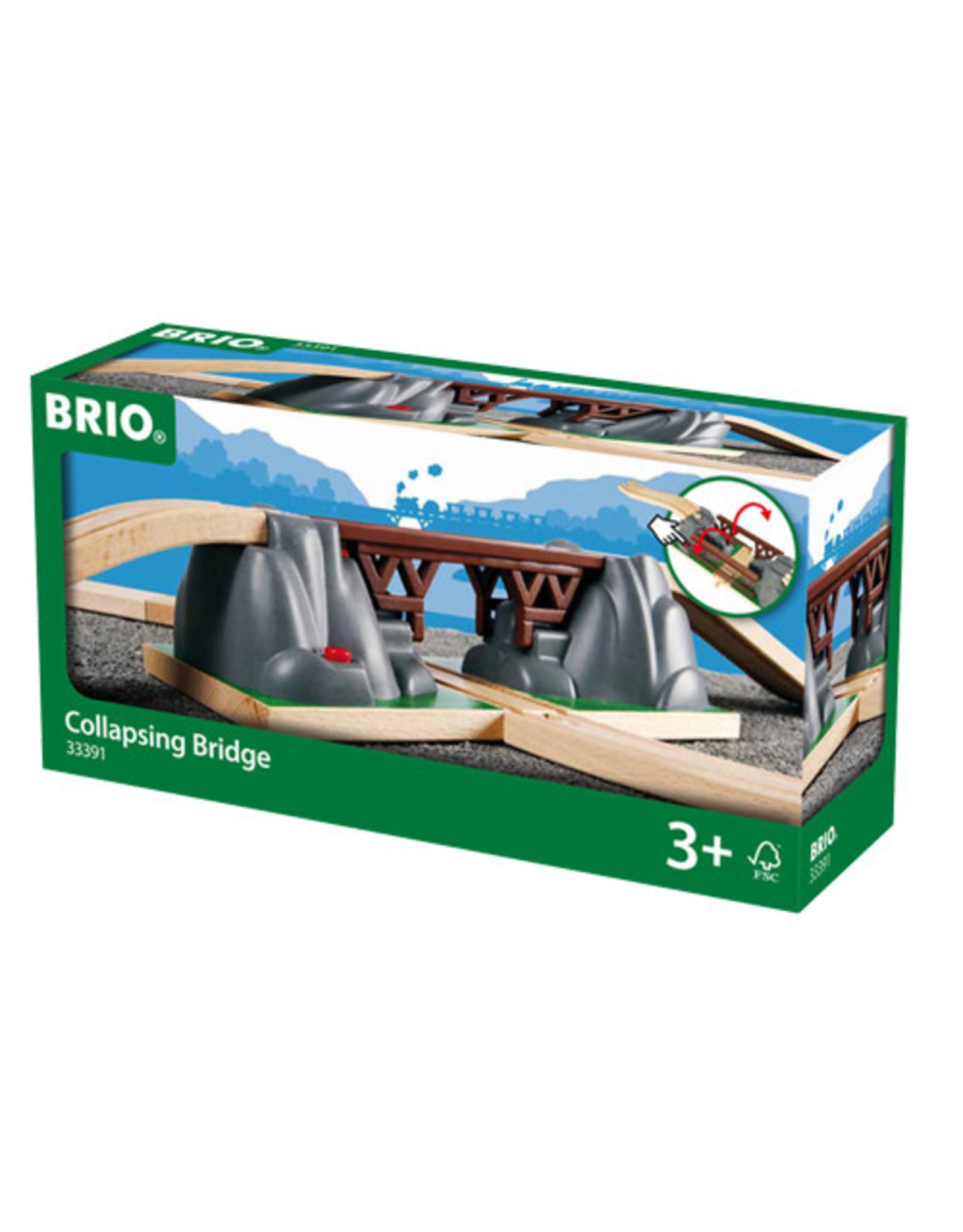 BRIO CORPORATION COLLAPSING BRIDGE