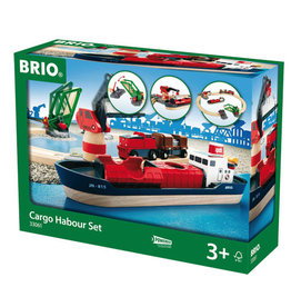 BRIO CORPORATION Cargo Harbour Set