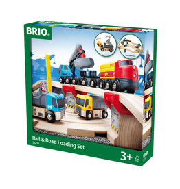 BRIO CORPORATION Rail & Road Loading Set
