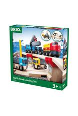 BRIO CORPORATION Rail & Road Loading Set