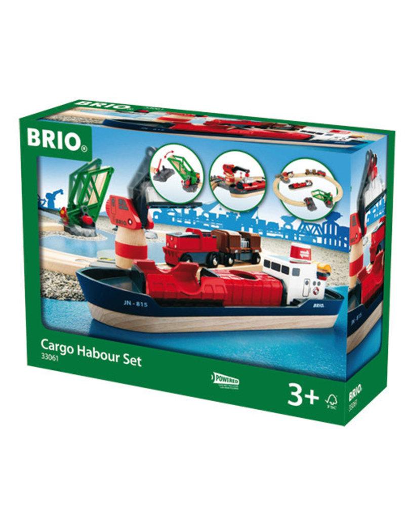 BRIO CORPORATION Cargo Harbour Set