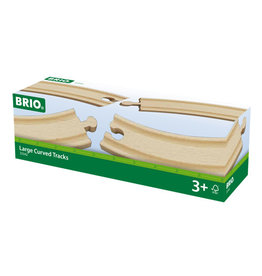 BRIO CORPORATION Large Curved Tracks