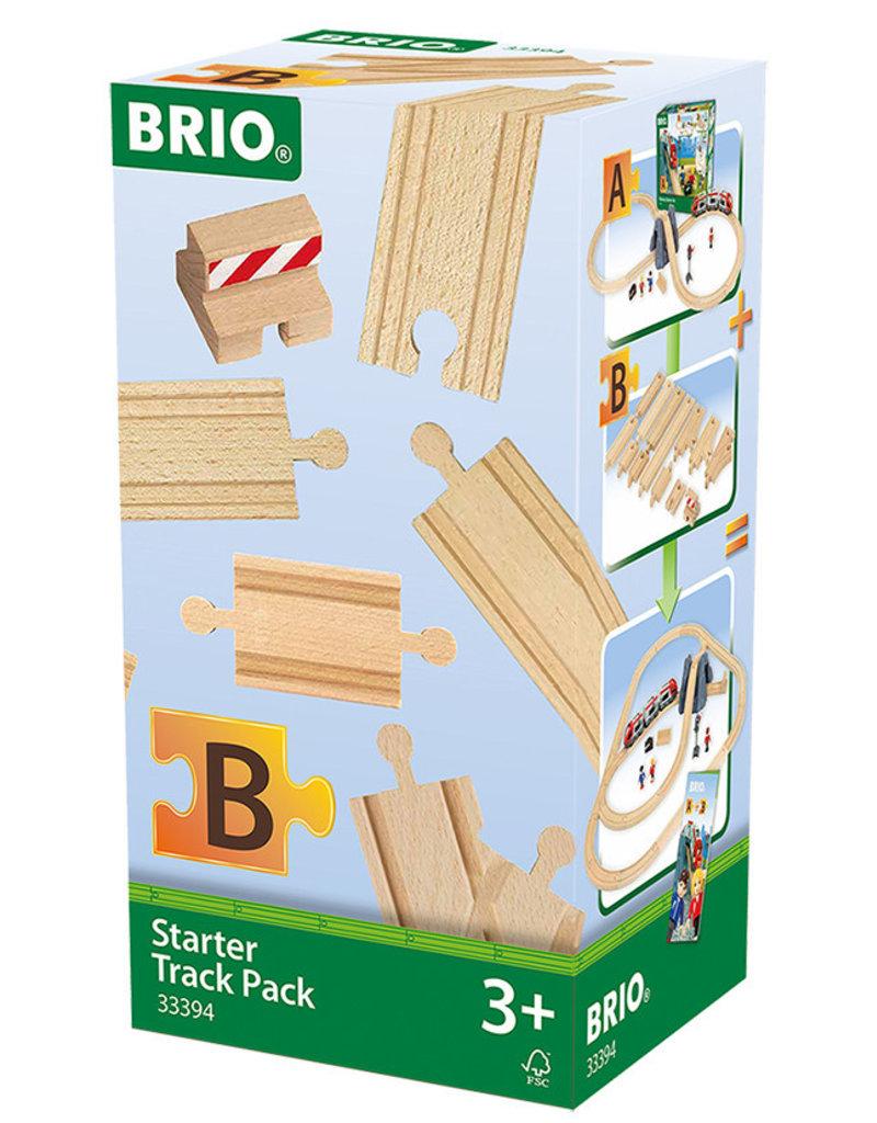 BRIO CORPORATION Starter Track Pack