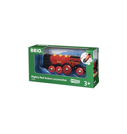 BRIO CORPORATION Mighty Red Action Locomotive